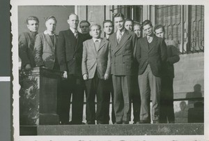 Roy Palmer with Bible Students, Frankfurt, Germany, ca.1948-1958