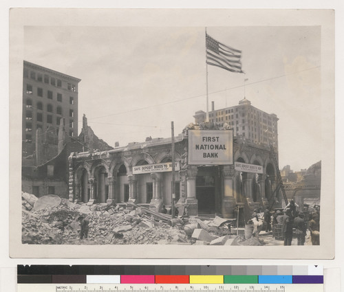 [First National Bank.]