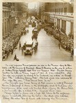 [The funeral procession of Warren G. Harding]
