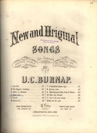 Trust me : song for tenor / words by Allan Deane ; music by U. C. Burnap