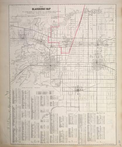 Calisphere Wheeler Scrapbook 3 Page 406 Blackburn S Map Of