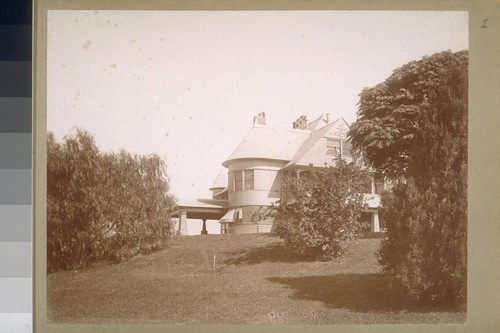 Grace Hill, Pasadena, William Stanton Residence