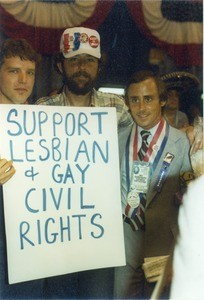 Lesbian & Gay Caucus at Democratic Convention