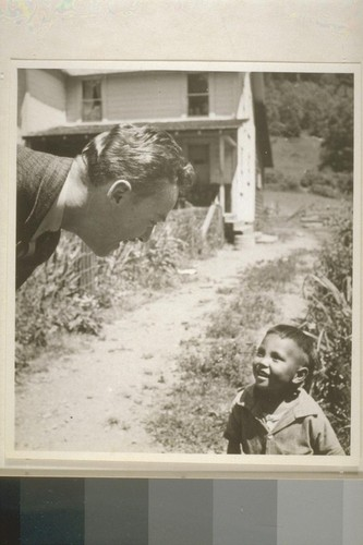 Douglas Hayes and Albert Lopez, Smith River, Calif. June 18, 1938