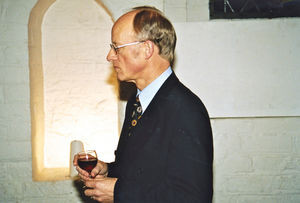 Danish Santal Mission General Secretary Jørgen Nørgaard Pedersen's 60 - year reception in the H
