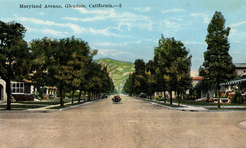 Maryland Avenue, Glendale, California