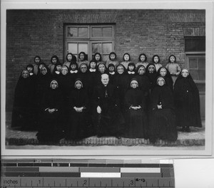 Sisters of the Sacred Heart at Fushun, China