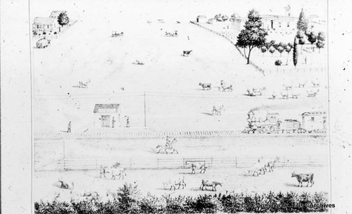 Manuel Dominguez Homesite, sketch