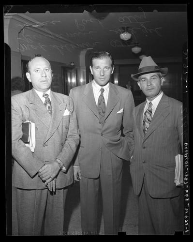 calisphere benjamin bugsy siegel with his attorneys max solomon