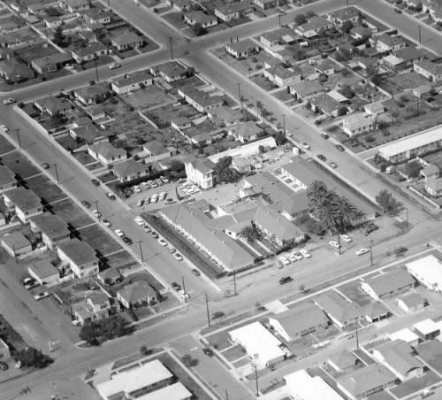 Calisphere: Aerial View of Chula Vista Community Hospital