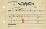Advance Truck Co. [Company] General Trucking receipt, Dominguez Water Company
