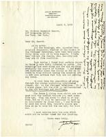 Letter from Julia Morgan to William Randolph Hearst, April 3, 1923