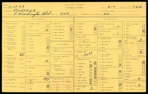 WPA household census for 645 EAST WASHINGTON BLVD, Los Angeles