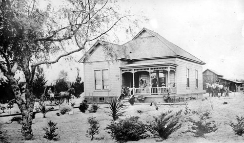 Weddington House/Toluca Post Office, 1894