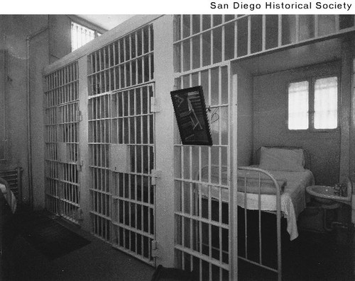 Jail cell in the County Jail