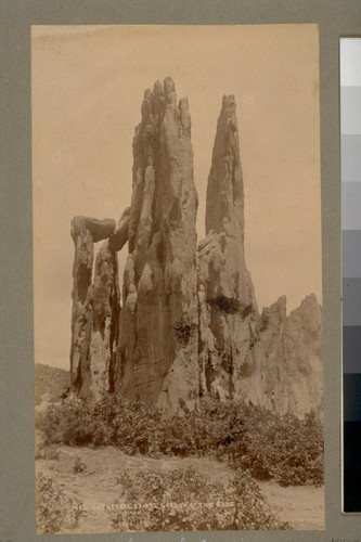 Cathedral Spires, Garden of the Gods. 1402. [Colorado.]
