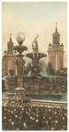 Fountain in lagoon, South Garden. Panama-Pacific International Exposition, San Francisco, Cal., 1915