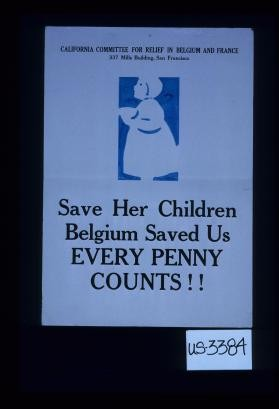 Save her children. Belgium saved us. Every penny counts!!