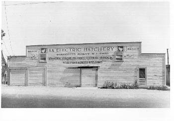 AA Electric Hatchery building