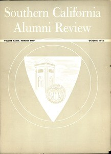 Southern California alumni review, vol. 28, no. 2 (1946 Oct.)