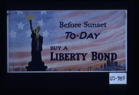 Before sunset today, buy a Liberty bond