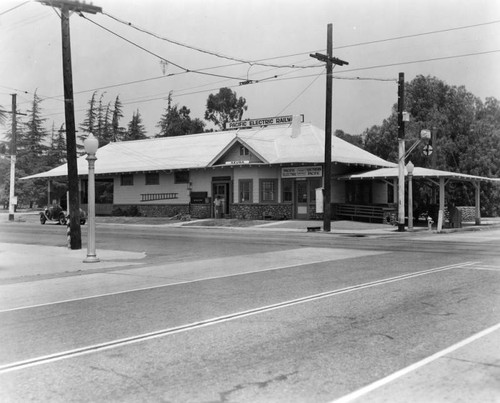 Azusa Pacific Electric depot