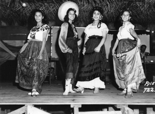 Mexican American women at celebration