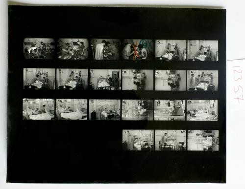Overseas Weekly Contact Sheet 12357