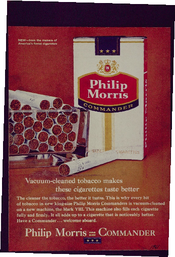 Philip Morris = commander