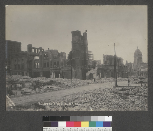 Ruins of Y.M.C.A., S.F. Cal. [Ellis and Mason Sts.]