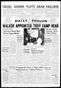 Daily Trojan, Vol. 48, No. 83, February 28, 1957