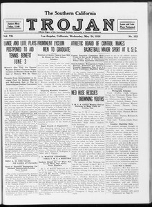 The Southern California Trojan, Vol. 7, No. 122, May 24, 1916
