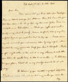 William Cobbett letter to S.M. Dyckman, 1800 October 8