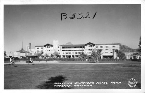Arizona Biltmore Hotel Near Phoenix