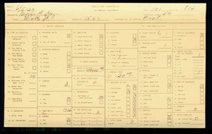 WPA household census for 1527 W 4TH ST, Los Angeles