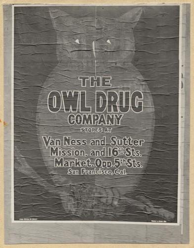 Owl drug company san francisco