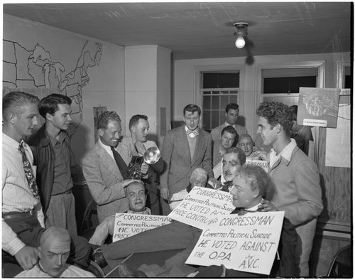 Group Gathered In The Office Of Price Administration, Los Angeles, May 4,  1946