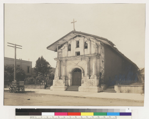 Mission S.F. [i.e. San Francisco] de Asis, Dolores, built 1780. [Dolores St. at Sixteenth.]