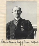 Walter Peterson, Oakland Chief of Police.