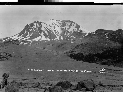 """Mt. Lassen"" Only Active Volcano in the United States"