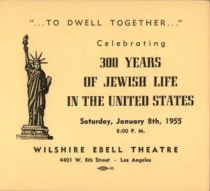 """…to Dwell Together…"", advertisement, 1955-01-08"