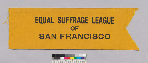 Equal Suffrage League of San Francisco (ribbon)