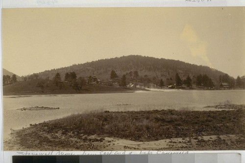 Stonewall Mine, from East End of Lake Cayamoca. To Gengie from Fred and Magreolea. June 1891