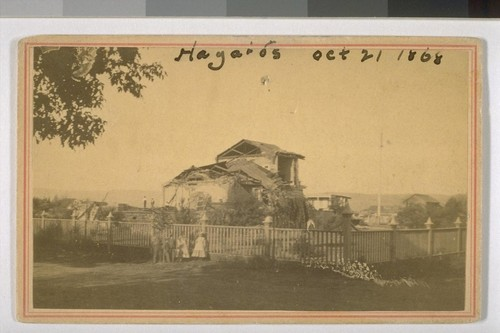 Hayward's. Oct. 21--1868. San Leandro Court House