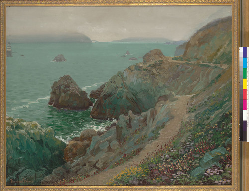 [The Golden Gate from Ocean Cliff, San Francisco]