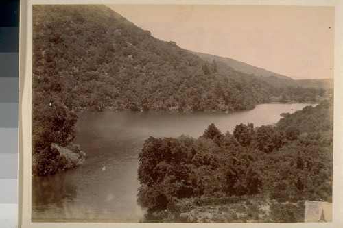 [Overhead view of lake. Another view of picture no. 2]