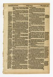 Hutter's Hebrew Bible, 1587