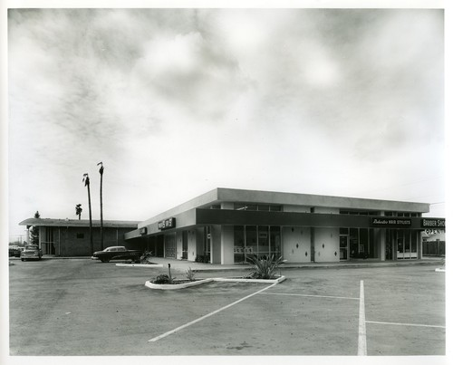 Exterior View of Stores at the Ann Darling Park Shopping Center