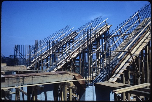 Geisel Library under construction