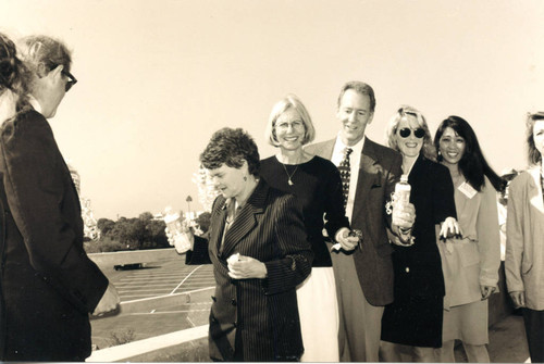 Shiela Kuehl at the Malibu Lagoon Bridge Dedication, 1995